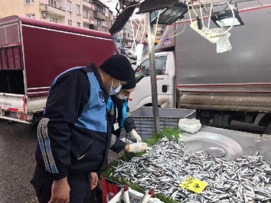 Ümraniye'de Balık Denetimi