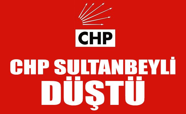 CHP SULTANBEYLİ DÜŞTÜ