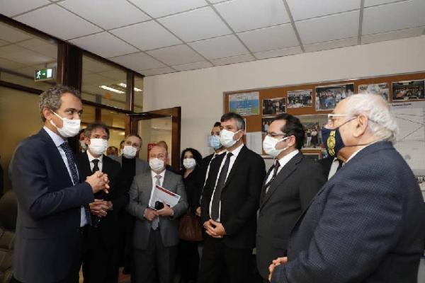 """Şile'de yapılacak olan """"Savunma Sanayi Meslek Lisesi"""" için Bakanlık düzeyinde yerinde inceleme gerçekleştirildi"""