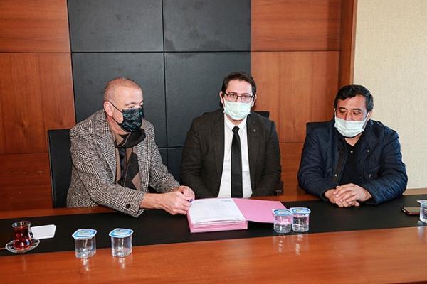 Ataşehirde'de imzalar atıldı