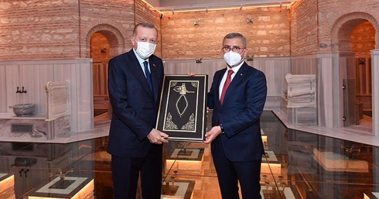 Cumhurbaşkanı Erdoğan Nevmekân Selimiye'nin Açılışını Yaptı