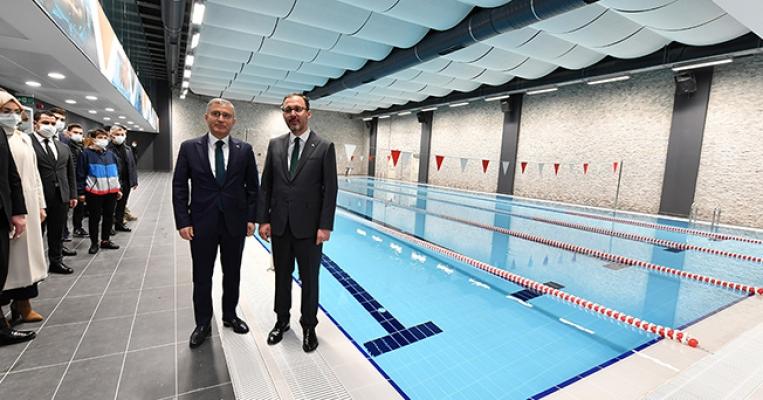 Prof. Dr. Raşit Küçük Gençlik ve Spor Merkezi Açıldı