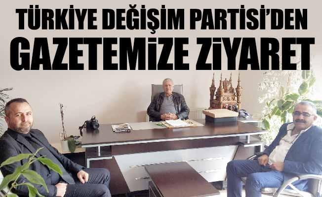 TDP'DEN GAZETEMİZE ZİYARET