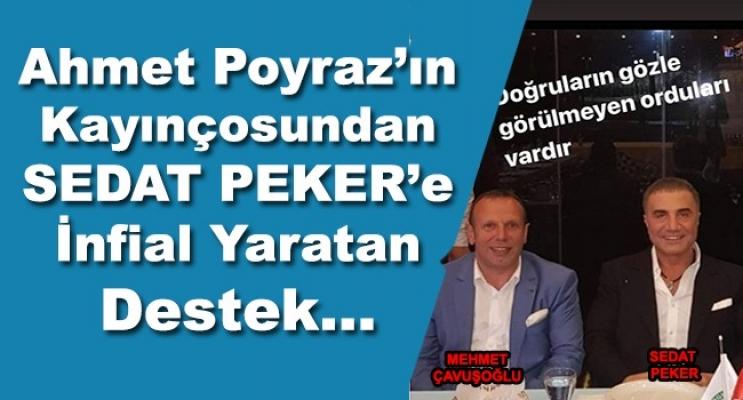 Poyraz'ı Kayınçosundan Peker'e Fotoğraflı Destek!