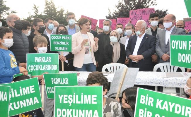 HAKLI EYLEM KÖTÜ ORGANİZASYON!