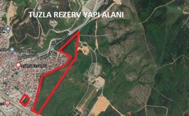 Tuzla'da Askeri Alan İmara Açıldı