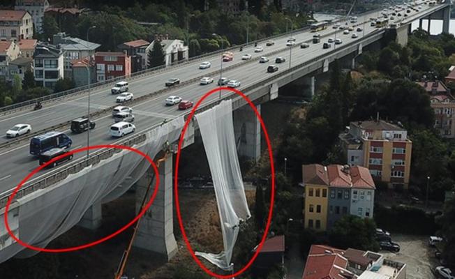 15 Temmuz Şehitler Köprüsü'nde fileli önlem
