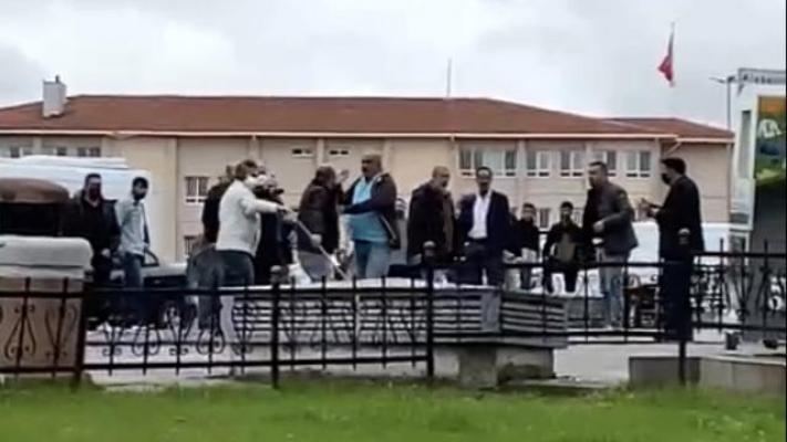 Ümraniye'de Dolmuş Şoförleri Meydan Muharebesi!