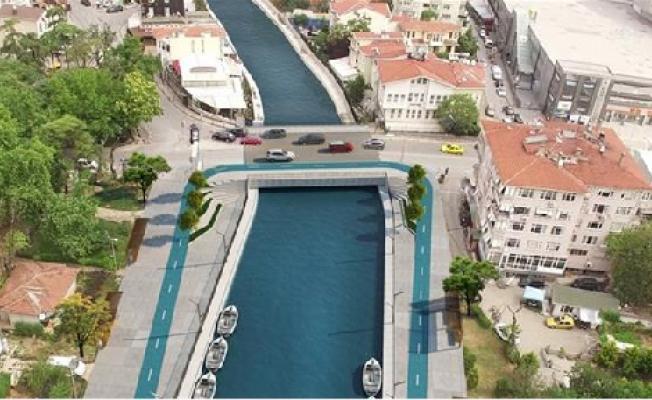 Kurbağalıdere Köprüsü'nün 2 şeridi trafiğe açıldı