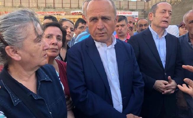 Hamzaçebi, Fikirtepe'de kentsel dönüşüm mağdurlarını ziyaret etti