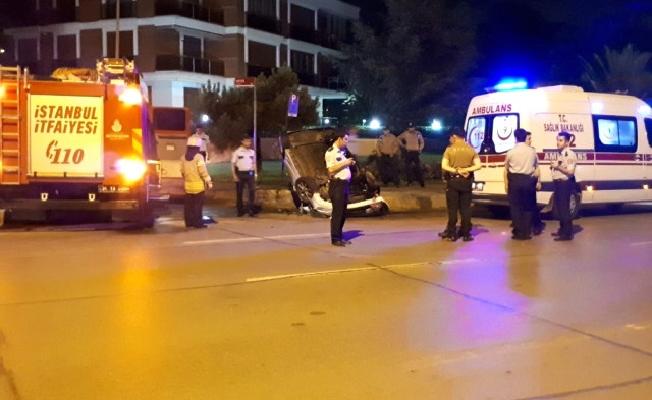 Kadıköy'de kaza: 1 yaralı