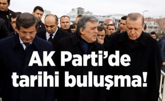 AK Parti'de tarihi buluşma!