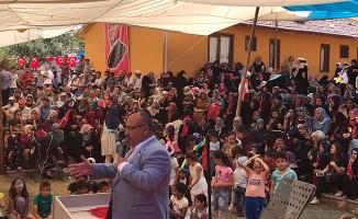 Başkan Can Hasat Bayramı Fasulye Festivaline katıldı