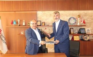 Susurluk Belediye Başkanı Hızlıoğlu'dan Başkan Hasan Can'a Ziyaret