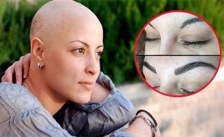 3D Kaş Şekillendirme kanser hastalarına moral aşılıyor