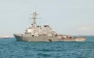 ABD gemisi petrol tankeriyle çarpıştı. 10 asker kayıp