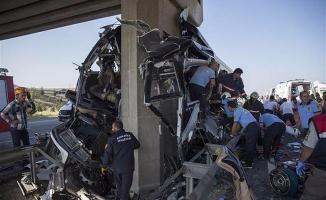 Ankara'da kaza: 5 ölü