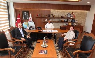 Başkan Hasan Can, şehit babasını ağırladı