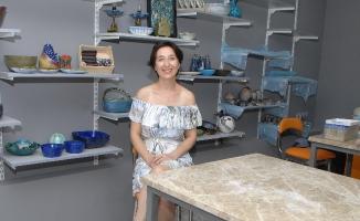 Belediye Kursunu Tamamladı Sanat Atölyesi Açtı