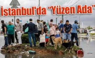 """İstanbul'da """"Yüzen Ada"""""""