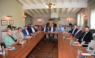 Ak Partili Başkanlar Şile'de Toplandı