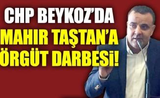 CHP Beykoz'da Mahir Taştan'aörgüt darbesi!
