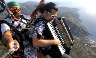 Fethiye'de gökyüzü konseri