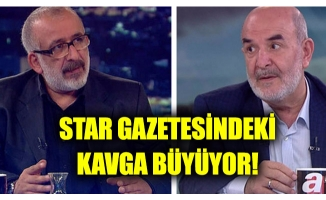 Star gazetesi yazarları birbirine girdi, tehditler başladı!