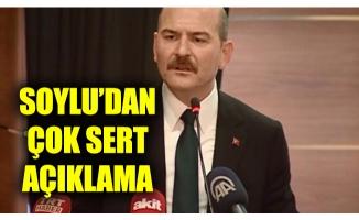 Süleyman Soylu'dan çok sert fotoğraf açıklaması