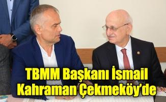 TBMM Başkanı İsmail Kahraman Çekmeköy'de