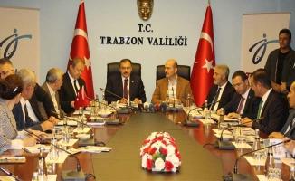 Trabzon'a 3 bakan 147 milyonluk yatırımım temelini attı