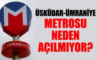 Üsküdar- Çekmeköy metrosu muamması bitiyor mu?