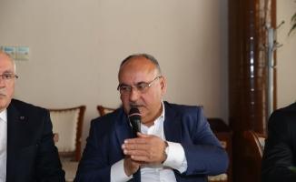 Hasan Can İl Dernekler Platformu istişare programına katıldı