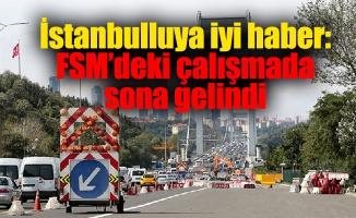 İstanbulluya iyi haber: FSM'deki çalışmada sona gelindi