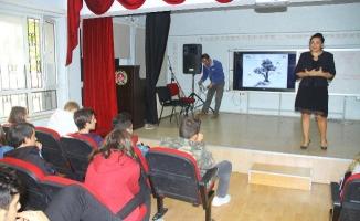 Kartal Belediyesi'nden Lise Öğrencilerine Çevre Eğitimi