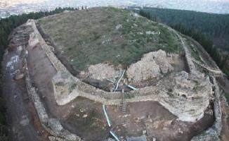 Aydos Kalesi'nde Tarih Öncesi Dönemin izlerine rastlandı