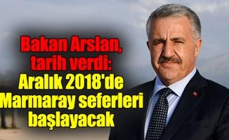 Bakan Arslan, Gebze-Halkalı Hattı için tarih verdi