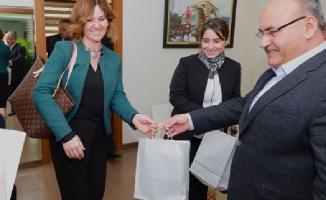 Başkan Hasan Can'a Öğretmenler Günü ziyareti