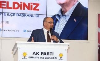 Can, AK Parti İlçe TeşkilatıGenel İstişare Toplantısına katıldı