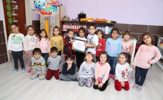 Çevreci Çocuklar Okullarına Ödül Kazandırdı