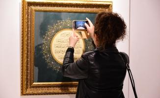 'Muhabbet' Tezhip Sergisi açıldı