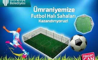 Ümraniye Belediyesi'nden Çocuklara Mini Futbol Sahası