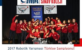 Türkiye Şampiyonu Avrupa Sınav Koleji Amerika'da Ülkemizi Temsil Edecek