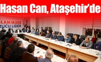 Başkan Hasan Can, Ataşehir'de