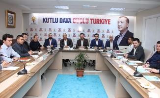 Can, AK Parti Ümraniye Gençlik Kolları Yönetim Kurulu Toplantısına katıldı