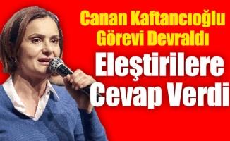 Canan Kaftancıoğlu Görevi Devraldı Eleştirilere Cevap Verdi
