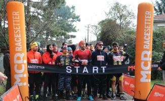 Çekmeköy'de Kurabiye Adam Kros Duatlon Yarışları yapıldı