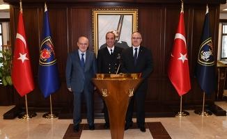 Çelikbilek'ten Gölcük Donanma Komutanı Tatlıoğlu'na Vefa Ziyareti