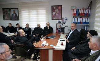 Hasan Can, Aşağı Dudullu Mahalle Muhtarlığı'nı ziyaret etti