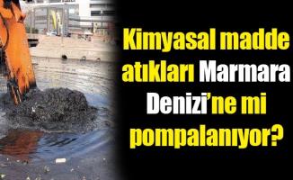 Kimyasal madde atıkları Marmara Denizi'ne mipompalanıyor?